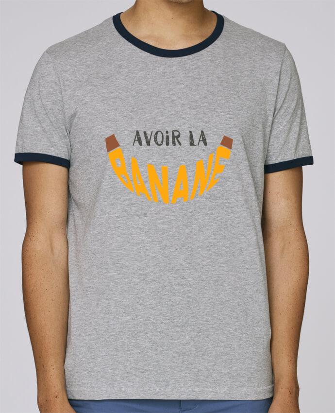 Contrasté Avoir Homme Pour Ringer Pzkiux Stanley T Holds Banane Shirt La yfv7Ybg6