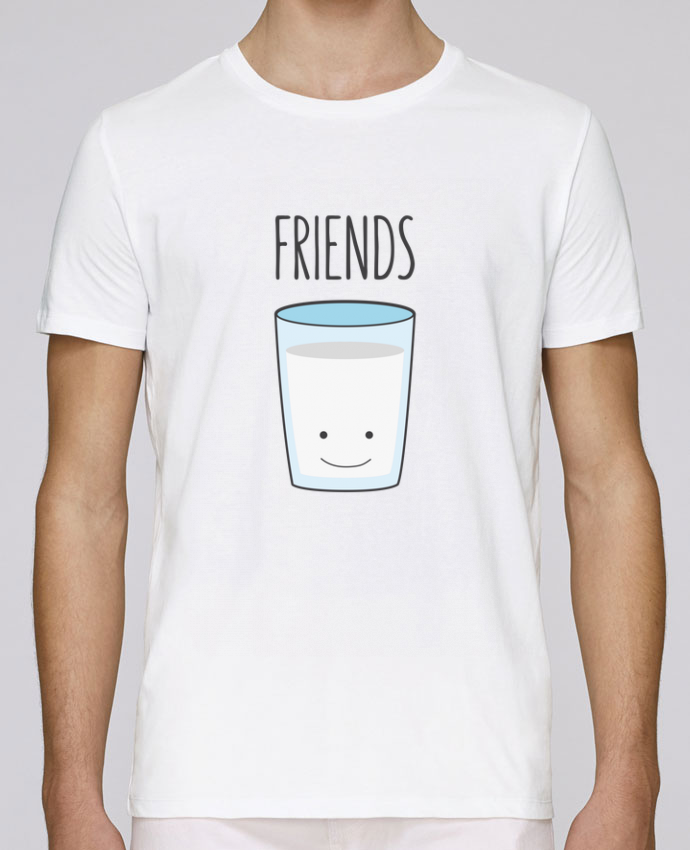 T-Shirt Col Rond Stanley Leads BFF - Cookies & Milk 2 par tunetoo