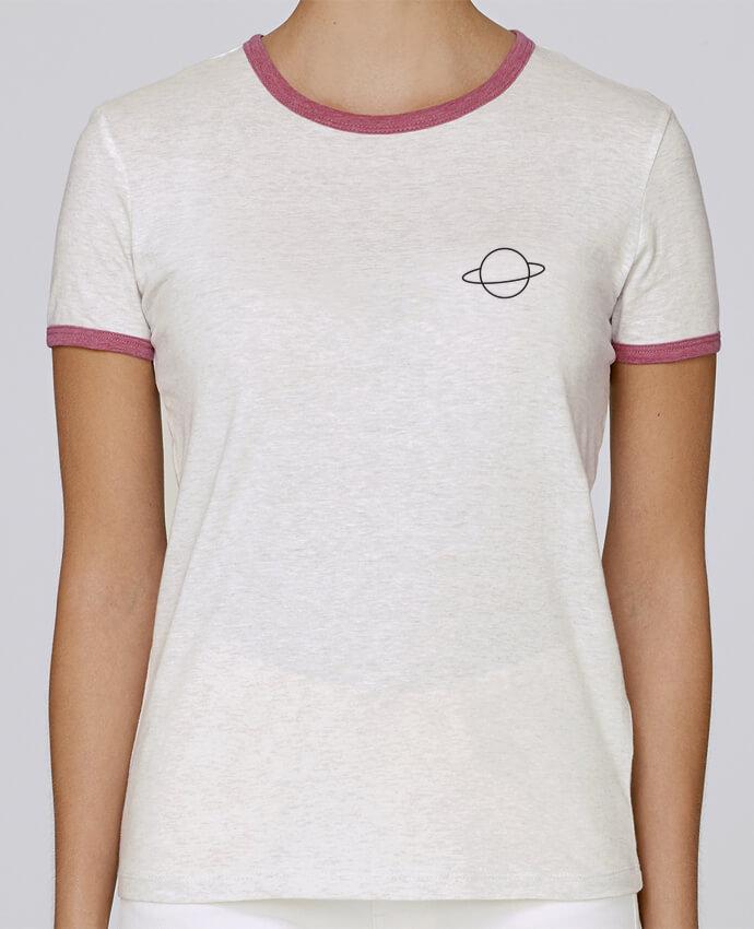 T-shirt Femme Stella Returns Alien and Planet pour femme par tunetoo