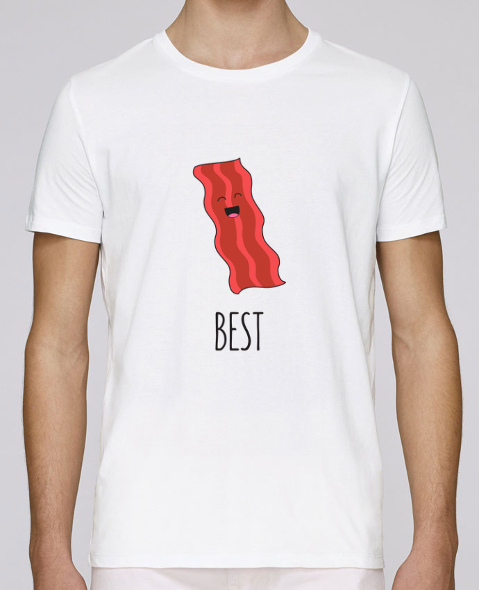 T-Shirt Col Rond Stanley Leads BFF - Bacon and egg 1 par tunetoo
