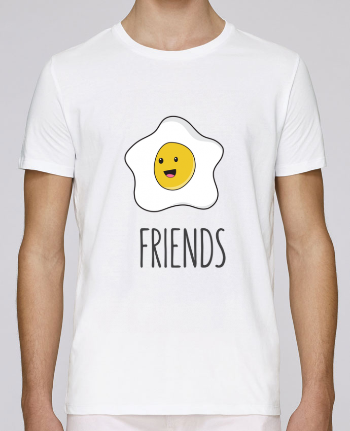 T-Shirt Col Rond Stanley Leads BFF - Bacon and egg 2 par tunetoo
