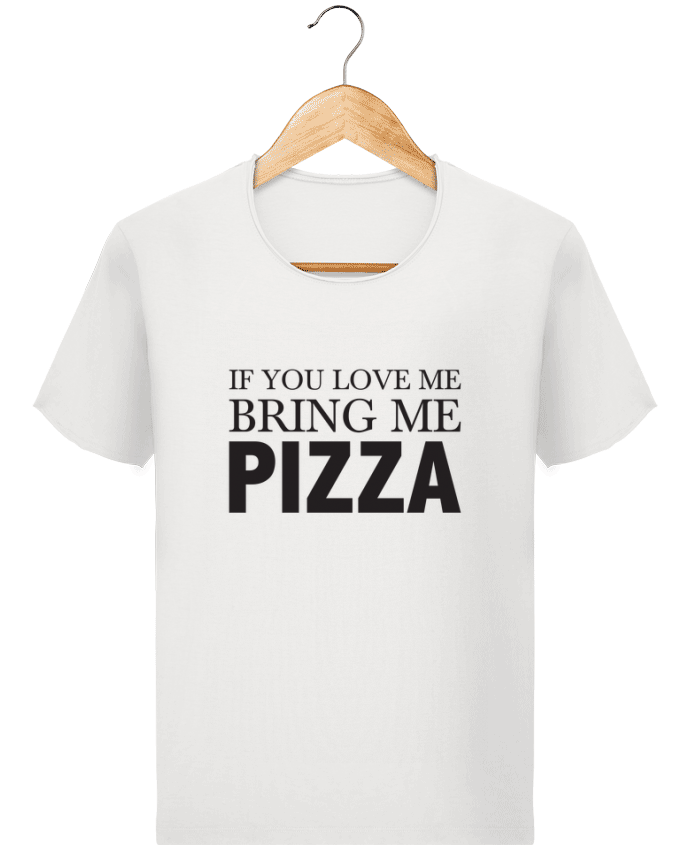 T-shirt Homme Stanley Imagines Vintage Bring me pizza par tunetoo