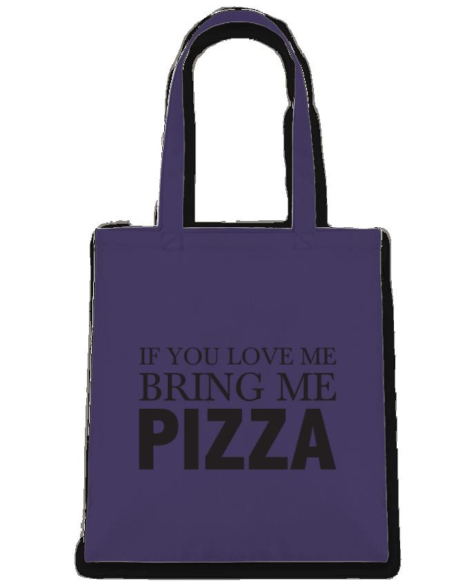 Tote-bag Bring me pizza par tunetoo