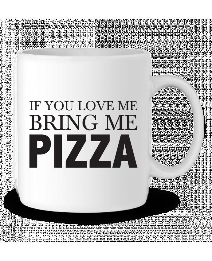Mug en Céramique Bring me pizza par tunetoo