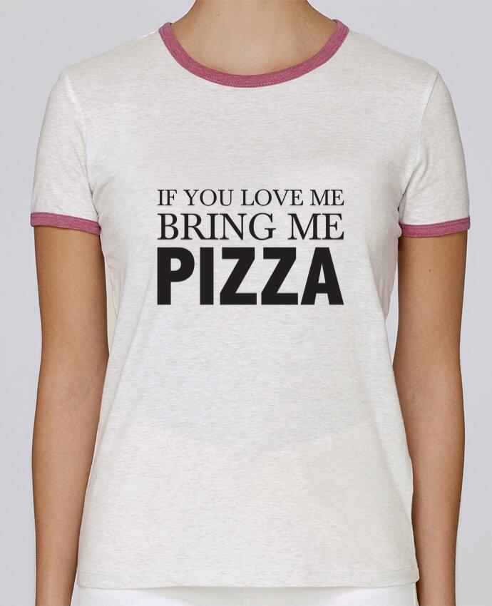 T-shirt Femme Stella Returns Bring me pizza pour femme par tunetoo