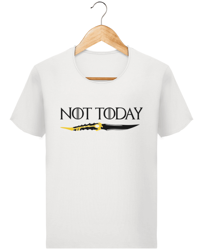 T-shirt Homme Stanley Imagines Vintage Not today - Arya Stark par tunetoo