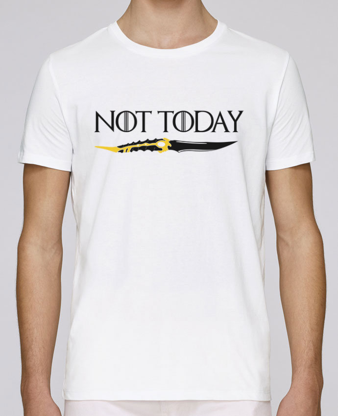 T-Shirt Col Rond Stanley Leads Not today - Arya Stark par tunetoo