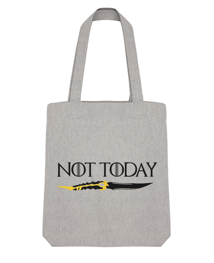 Tote Bag Stanley Stella Not today - Arya Stark par tunetoo