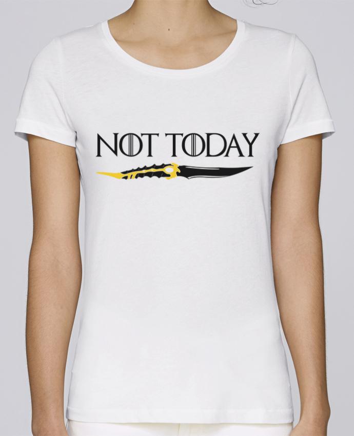 T-shirt Femme Stella Loves Not today - Arya Stark par tunetoo