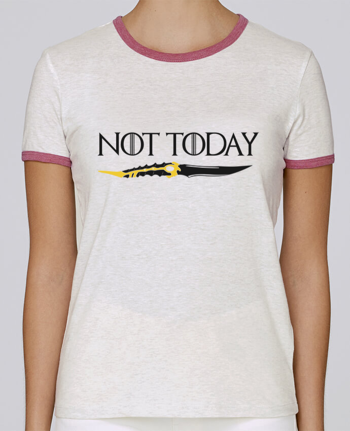T-shirt Femme Stella Returns Not today - Arya Stark pour femme par tunetoo