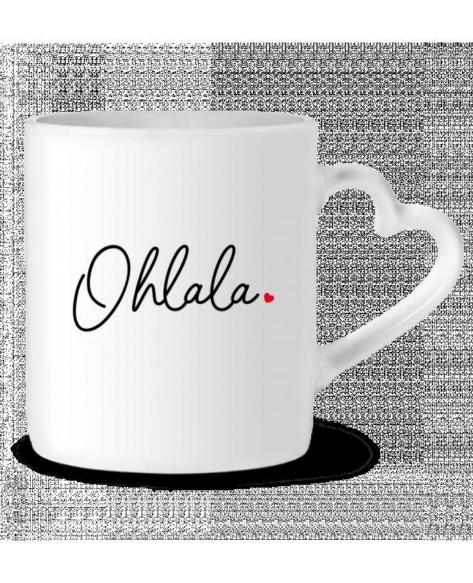 Mug Coeur Ohlala par Nana