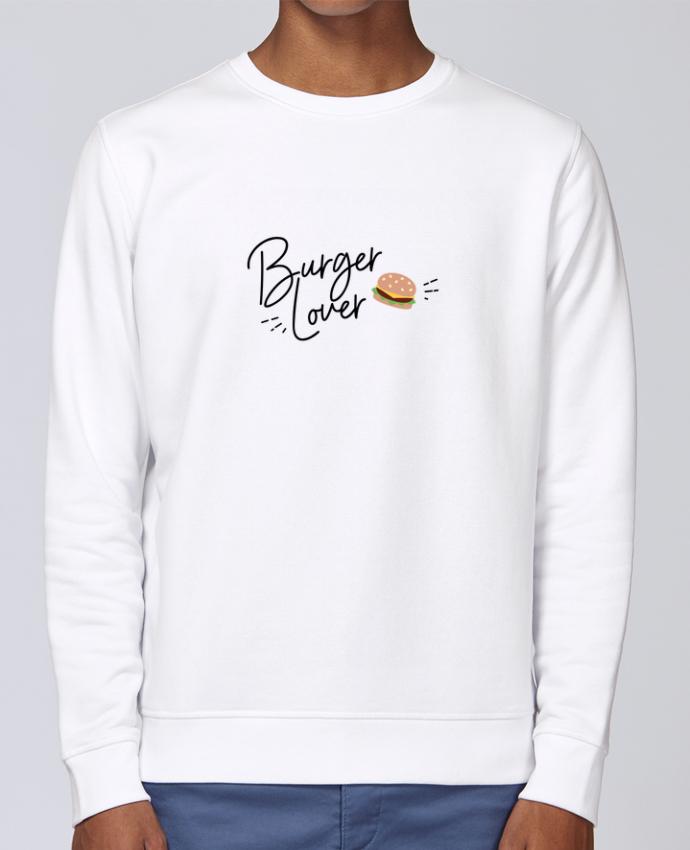 Sweat Col rond Unisex Stanley Stella Rise Burger Lover par Nana