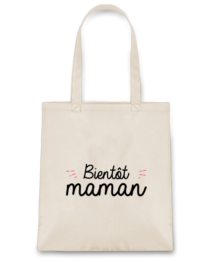 Sac en Toile Coton Bientôt maman par Nana