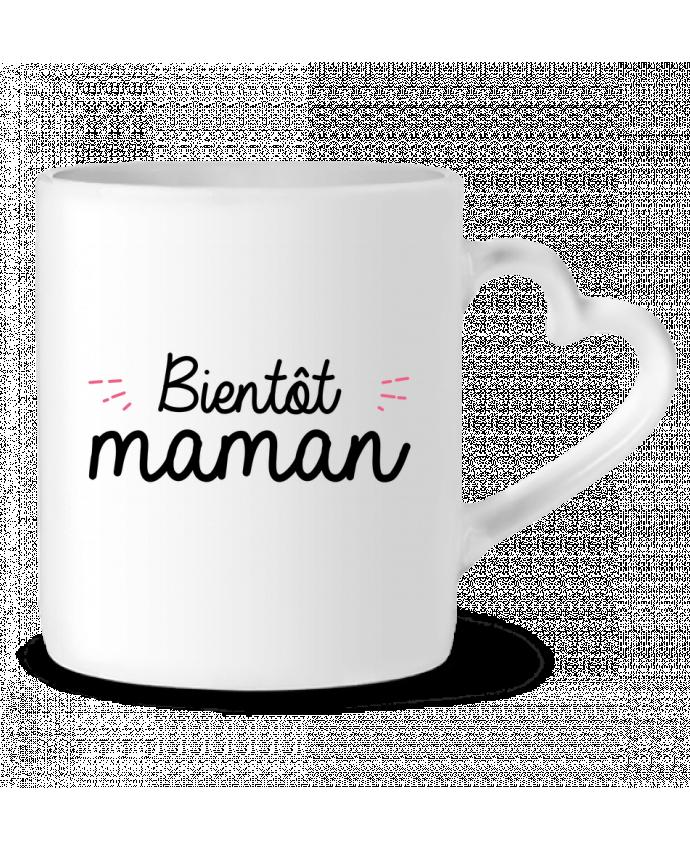 Mug Coeur Bientôt maman par Nana