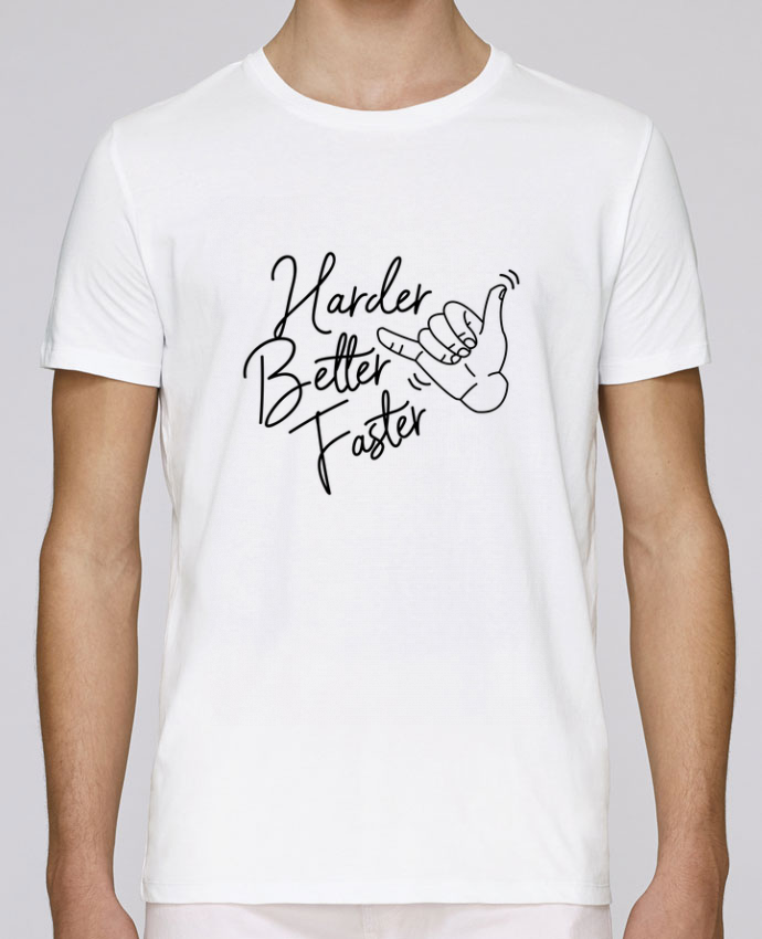 T-Shirt Col Rond Stanley Leads Harder Better Faster par Nana