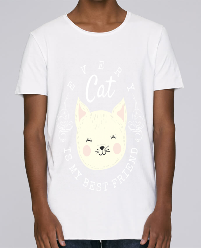 T-shirt Homme Oversized Stanley Skates every cat is my best friend par livelongdesign