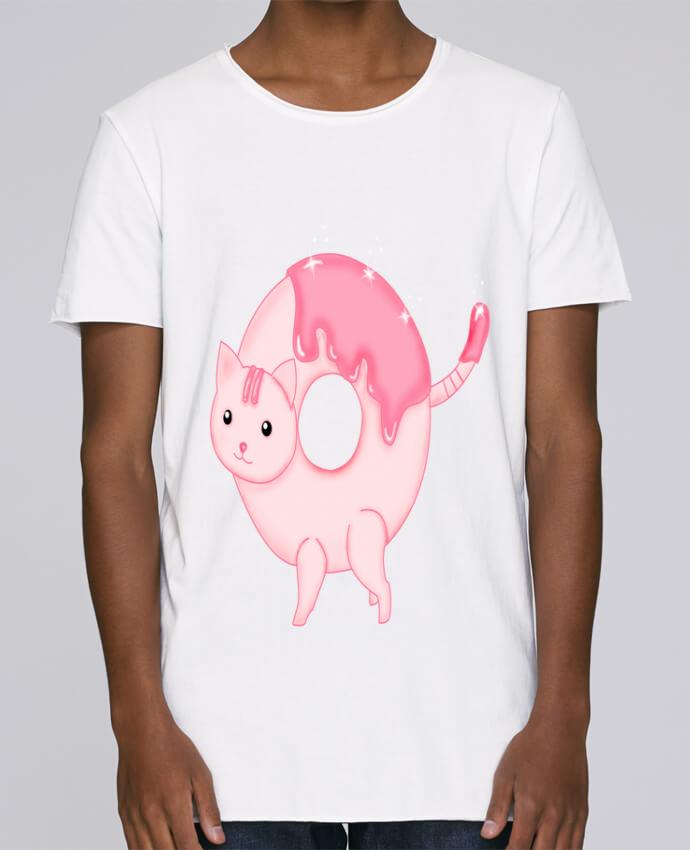 T-shirt Homme Oversized Stanley Skates Tasty Donut Cat par Thesoulofthedevil
