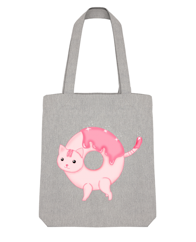 Tote Bag Stanley Stella Tasty Donut Cat par Thesoulofthedevil