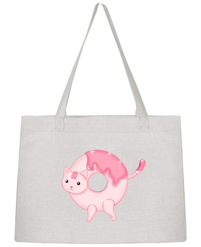 Sac Cabas Shopping Stanley Stella Tasty Donut Cat par Thesoulofthedevil