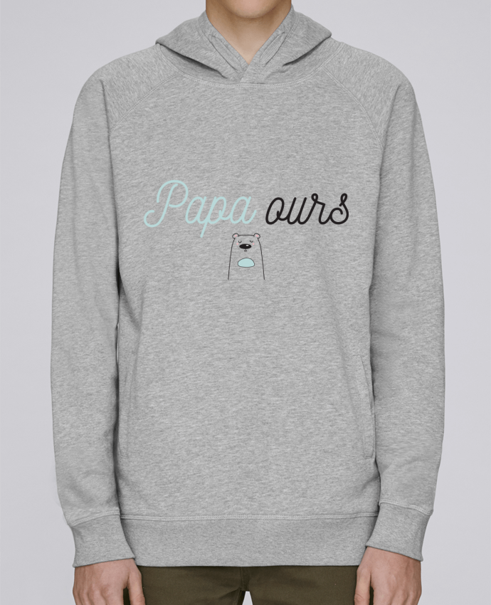 Sweat Capuche Homme Stanley Base Papa ours par tunetoo