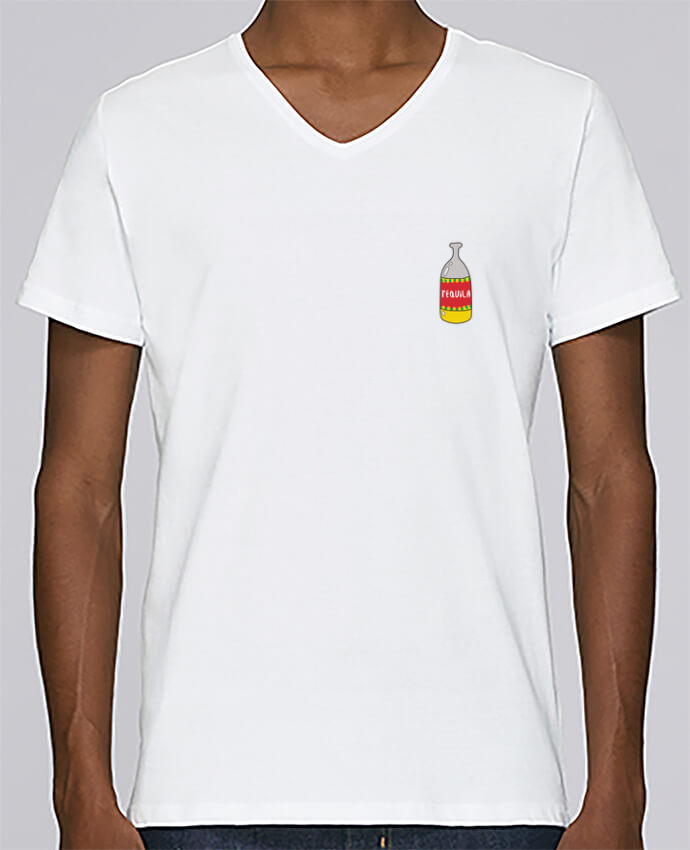 T-shirt Col V Homme Stanley Relaxes Tequila y lima 1 par tunetoo