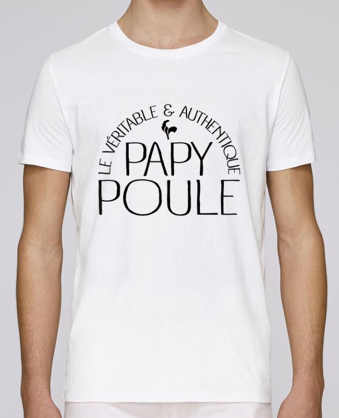 T-Shirt Col Rond Stanley Leads Papy Poule par Freeyourshirt.com