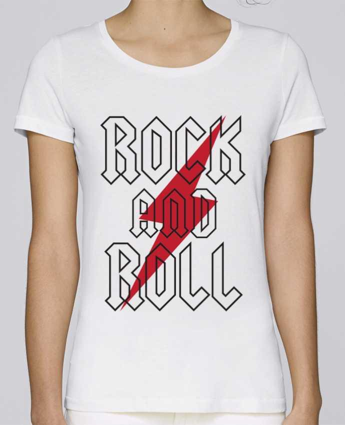 T-shirt Femme Stella Loves Rock And Roll par Freeyourshirt.com