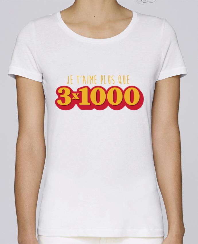 T-shirt Femme Stella Loves Je t'aime plus que 3 x 1000 - Avengers par tunetoo