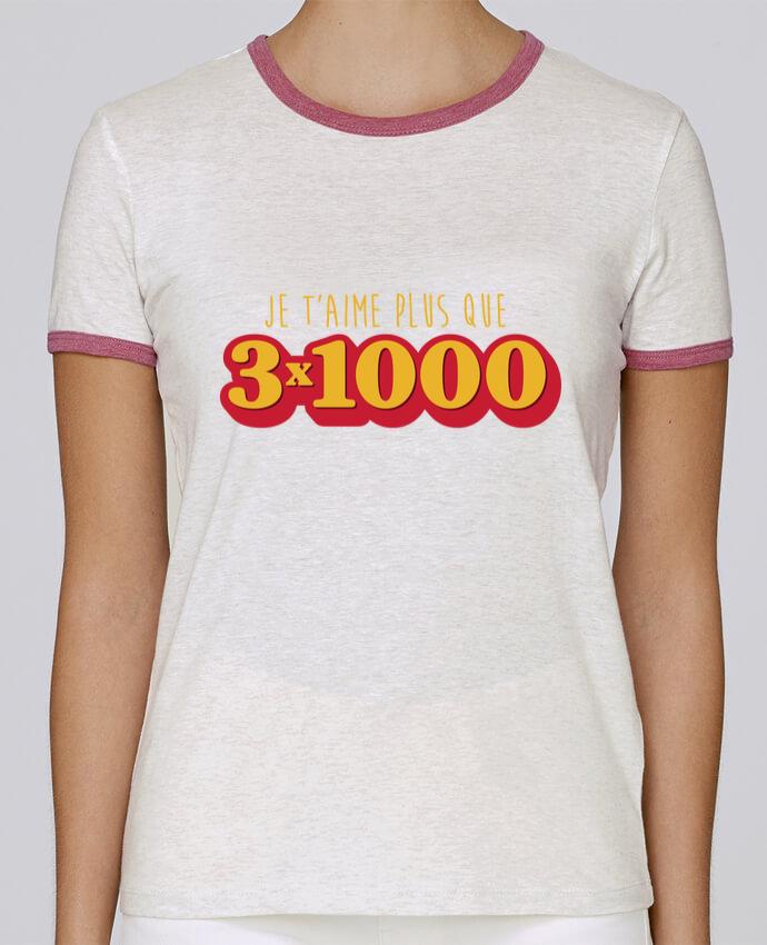 T-shirt Femme Stella Returns Je t'aime plus que 3 x 1000 - Avengers pour femme par tunetoo