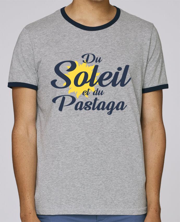 T-Shirt Ringer Contrasté Homme Stanley Holds Du soleil et du pastaga pour femme par tunetoo