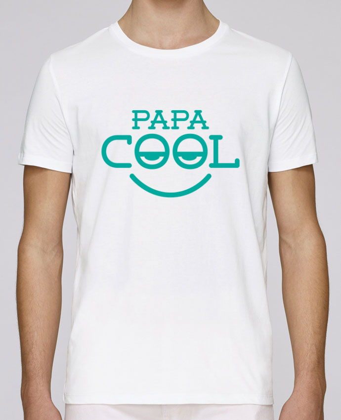 T-Shirt Col Rond Stanley Leads Papa cool par tunetoo