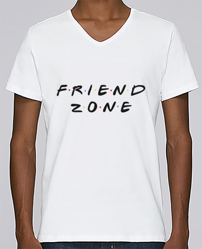 T-shirt Col V Homme Stanley Relaxes FRIENDZONE par tunetoo