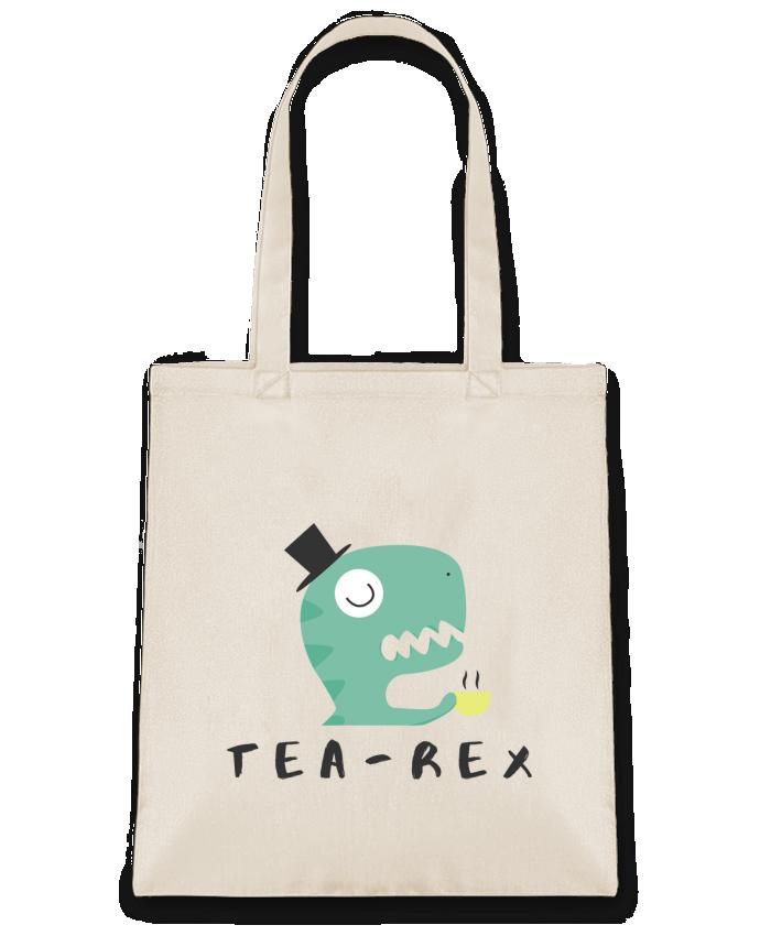 Sac en Toile Coton Tea-rex par tunetoo