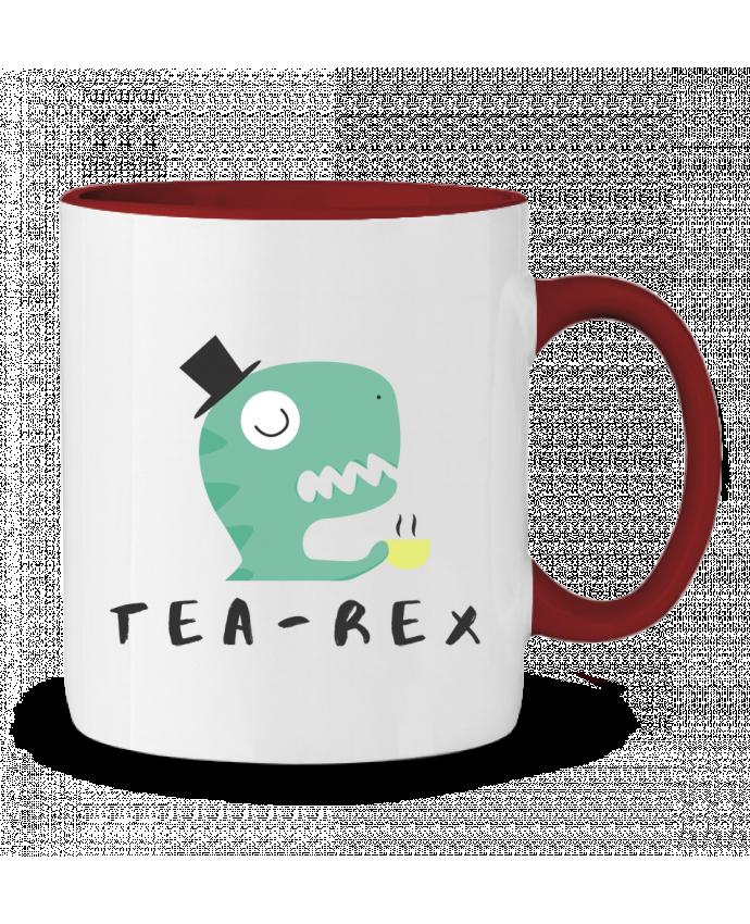 Mug en Céramique Bicolore Tea-rex tunetoo