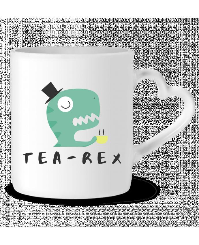 Mug Coeur Tea-rex par tunetoo