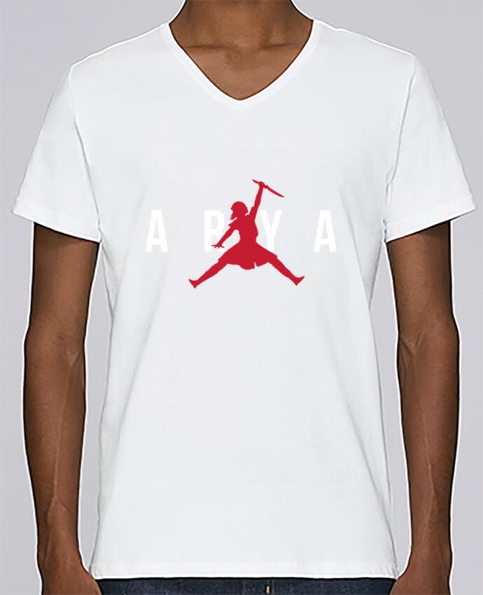 T-shirt Col V Homme Stanley Relaxes Air Jordan ARYA par tunetoo