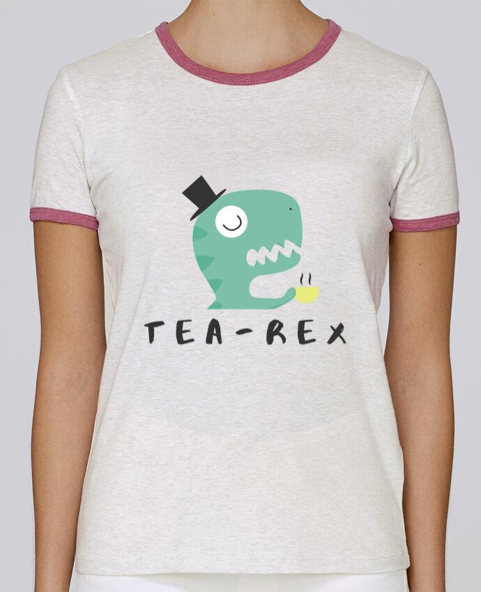 T-shirt Femme Stella Returns femme brodé Tea-rex par tunetoo