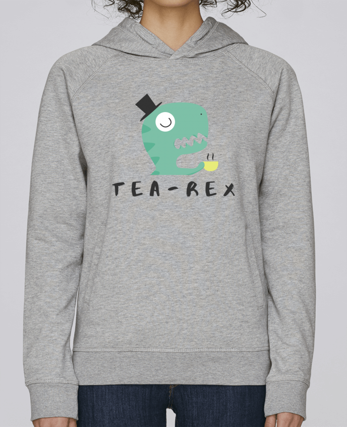 Sweat Capuche Femme Stanley Base Tea-rex par tunetoo