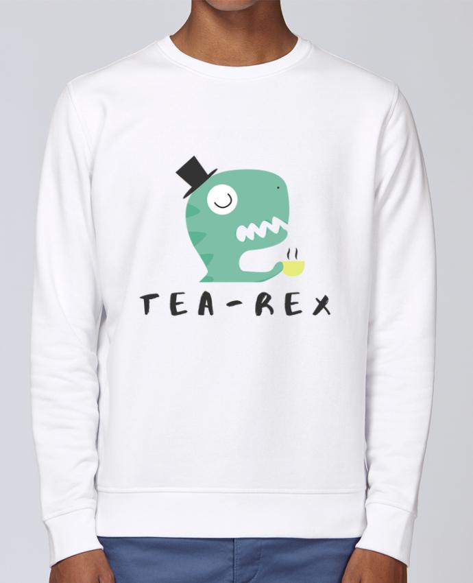 Sweat Col rond Unisex Stanley Stella Rise Tea-rex par tunetoo