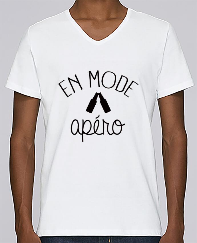 T-shirt Col V Homme Stanley Relaxes En Mode Apéro par Freeyourshirt.com