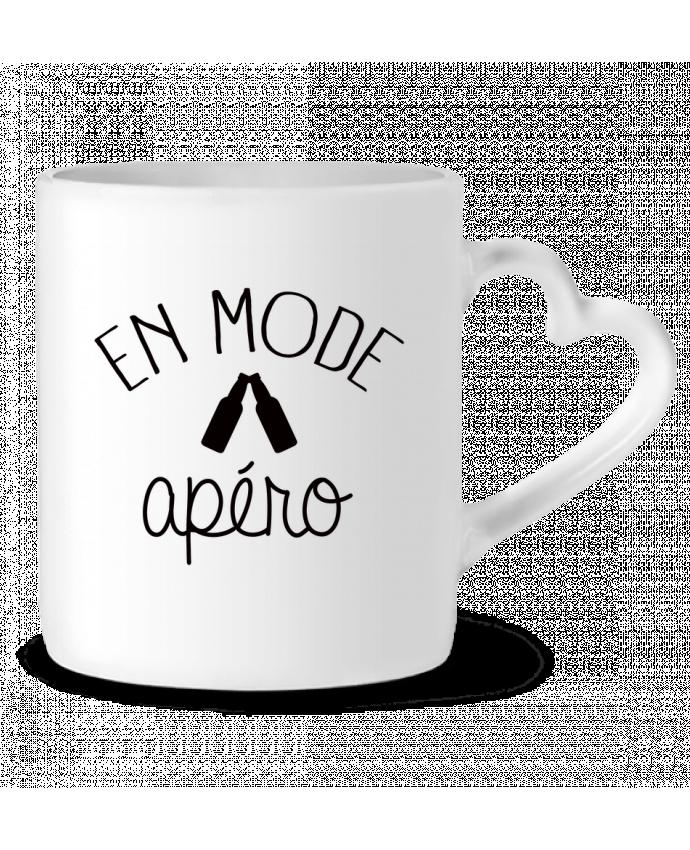 Mug Coeur En Mode Apéro par Freeyourshirt.com
