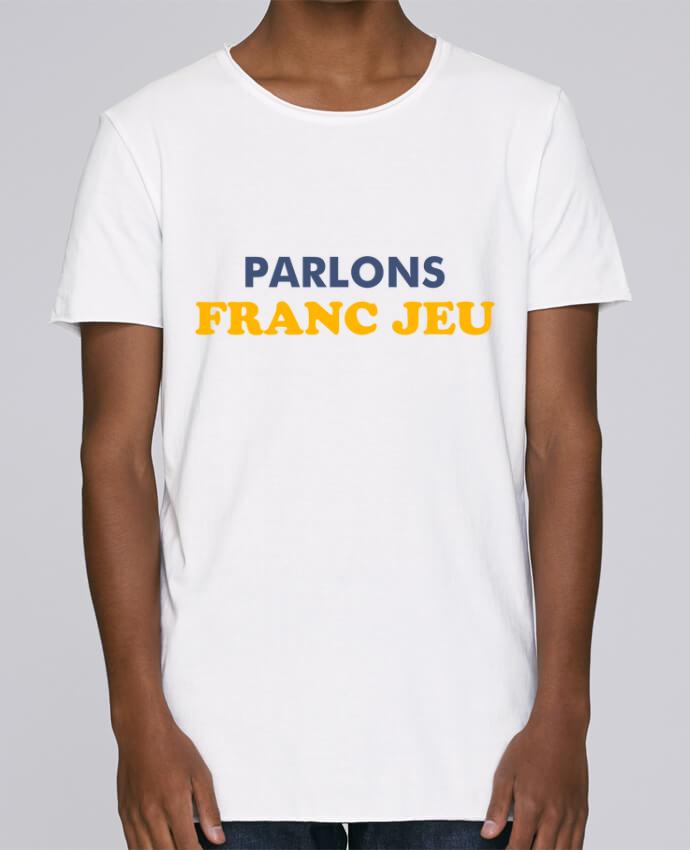 T-shirt Homme Oversized Stanley Skates Parlons franc jeu par tunetoo