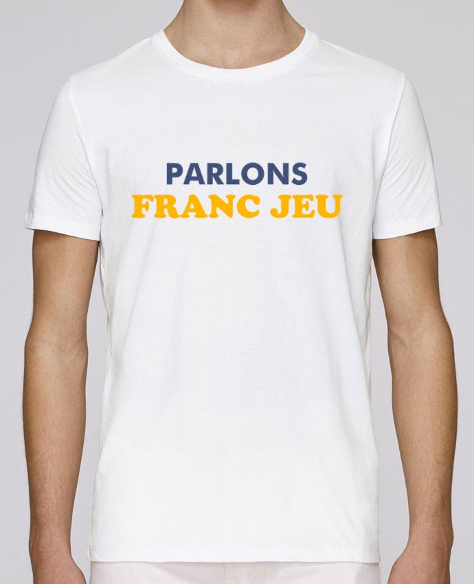 T-Shirt Col Rond Stanley Leads Parlons franc jeu par tunetoo
