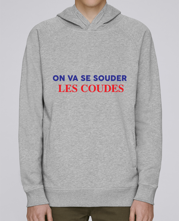 Sweat Capuche Homme Stanley Base On va se souder les coudes par tunetoo