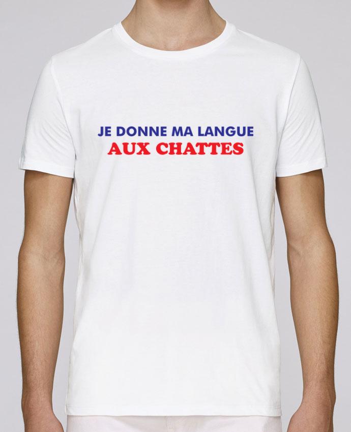 T-Shirt Col Rond Stanley Leads Je donne ma langue aux chattes par tunetoo
