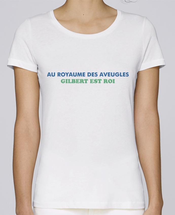 T-shirt Femme Stella Loves Au royaume des aveugles par tunetoo