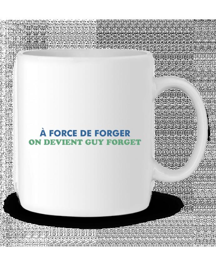 Mug en Céramique A force de forger par tunetoo