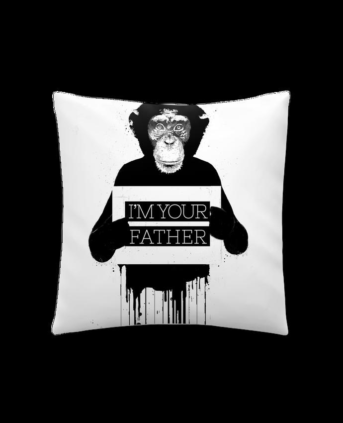 Coussin Synthétique Doux 41 x 41 cm I'm your father II par Balàzs Solti