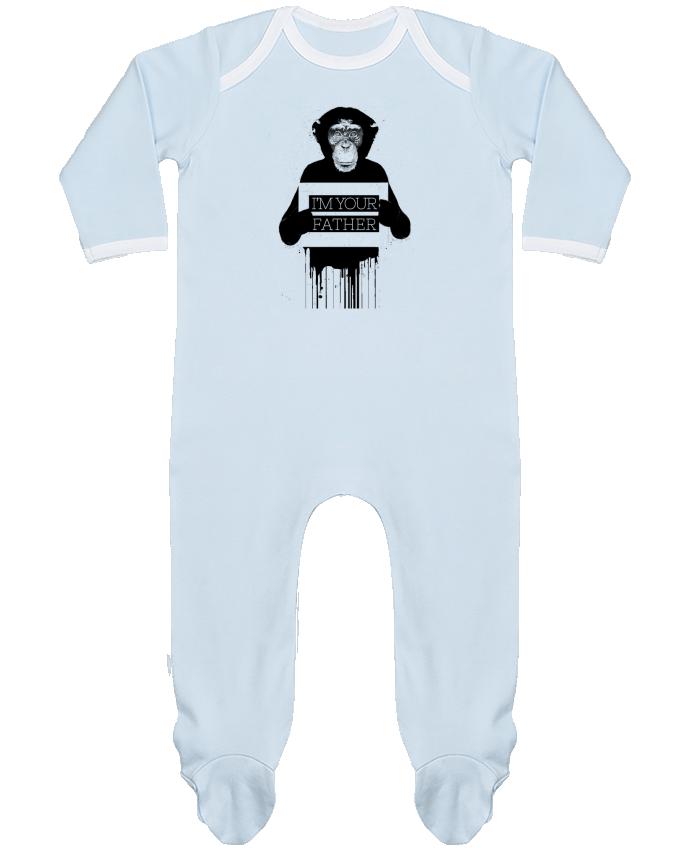 Pyjama Bébé Manches Longues Contrasté I'm your father II par Balàzs Solti