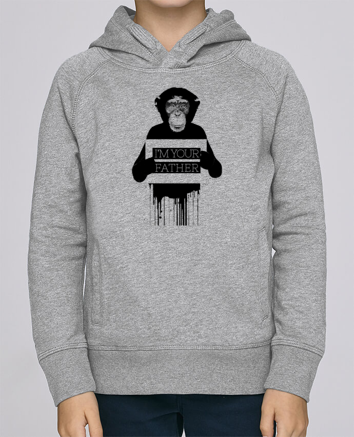 Sweat à Capuche Enfant Stanley Mini Base I'm your father II par Balàzs Solti